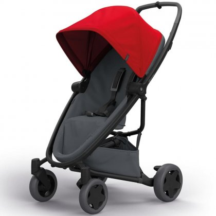 Quinny Zapp Flex Plus прогулочная Red on Graphite